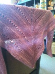 Lala's Simple Shawl for Kathy