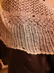 Orenburg shawl - edging