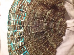 Outlander shawl - Clue 3 completed