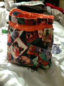 Halloween Bag from Knitting's My Bag