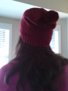Barley Hat - back view