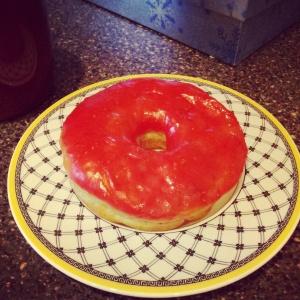 Beechwood Doughnuts: Raspberry Glaze