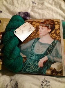 Picture of Lavinia and her namesake colourway from Canon Hand Dyes