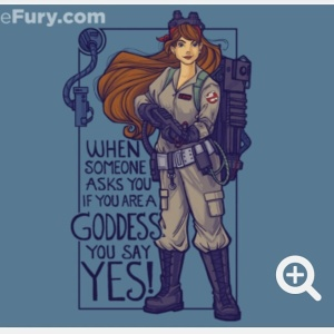 I ain't fraid of no girls t-shirt from Teefury