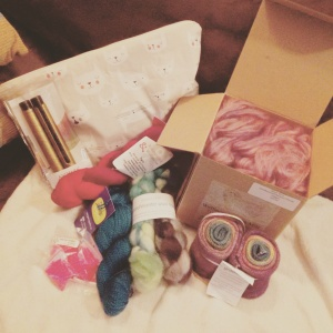 Katy's Haul from the Kitchener-Waterloo Knitter's Fair
