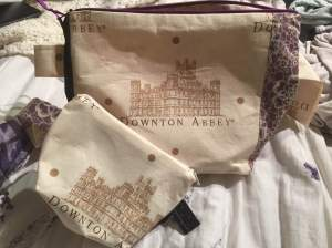Downton Project and Notions Bags